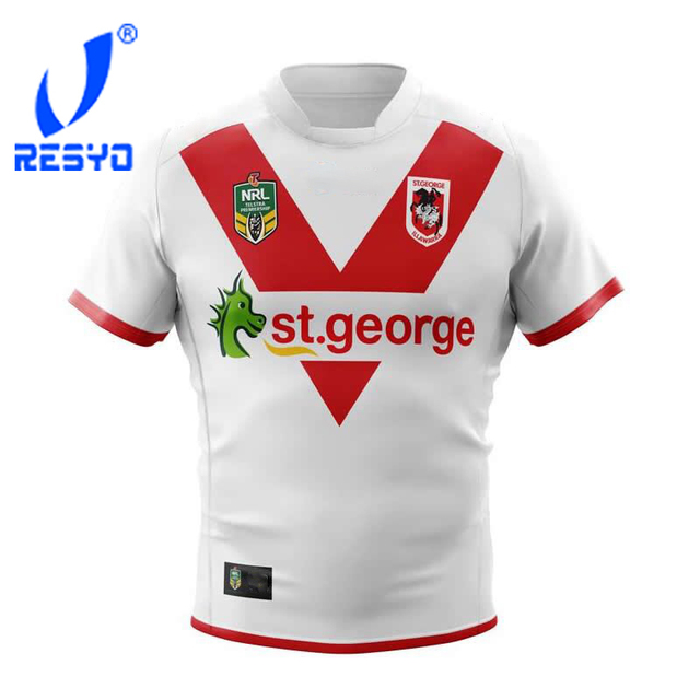 91a8638f781 RESYO 2018 2019 NRL ST.GEORGE RUBGY JERSEYS-in Rugby Jerseys from ...