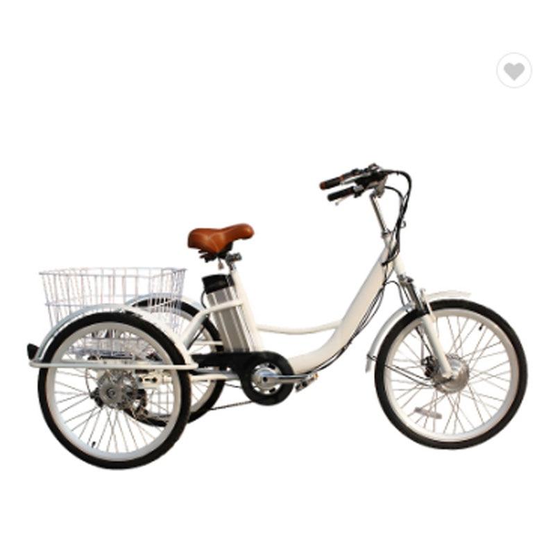 New Design Of 3 Wheels Mobile Cargo Trailer Bike Electric Cargo Bike For Sale