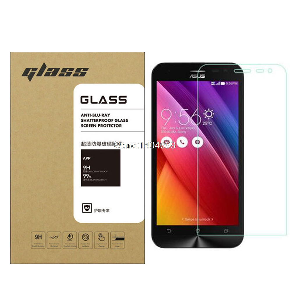 Tempered Glass For Asus Zenfone 2 Laser Ze601kl 026mm Hd Screen Protection 55 Sfor Ze500kl 9h 25d Anti Explosion