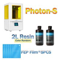 ANYCUBIC 3d Printer PhotonS 2019 New LCD 3D Printer Kit Quick Slice 405nm Matrix UV Light Upgraded UV Module Mini SLA UV Printer