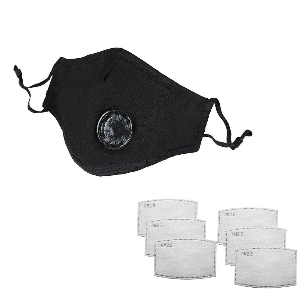 Di Nuovo Modo Confortevole Cotone Lavabile Respiratore Maschera Di Respirazione Con Spalline Regolabili E Del Ponte Del Naso