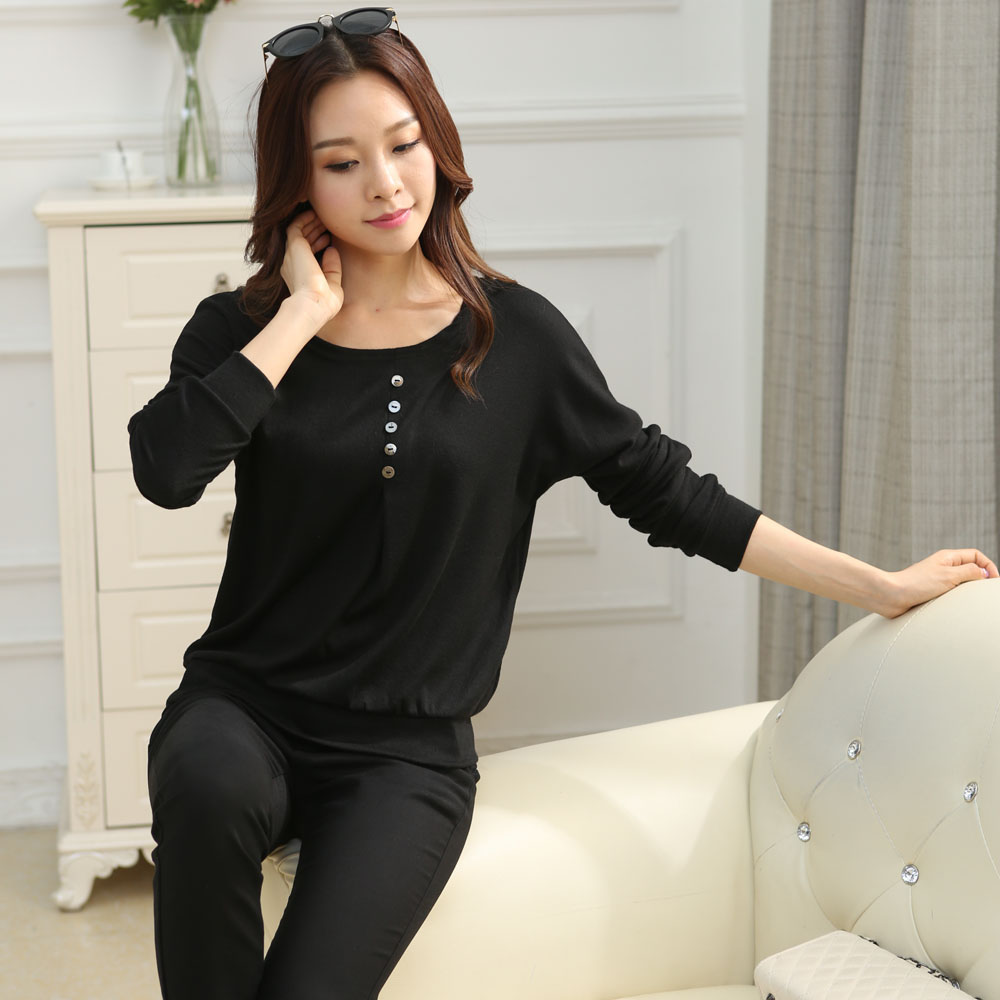 HTB11UgsJpXXXXaIXVXXq6xXFXXXu - Tee fashion O-neck tshirt women casual loose bat sleeve cotton T-shirt