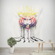 Soul Keeper By Tapestry Lion God In The Sky Wall Hanging Animal Sheets Golden Home Decor 130x150cm Picnic Mat