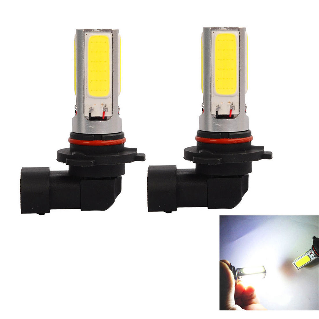 9140 Fog Light Bulb: 2Pcs 9005 HB3 20W Led Fog Light White Car Truck 9145 9140 Lamp Bulb 12V(,Lighting
