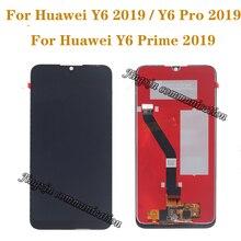 6.01 Huawei 社 Y6 用の元の表示 2019 Y6 プライム 2019 Y6 プロ 2019 液晶 + タッチスクリーンデジタイザコンポーネント完璧な画面の修理