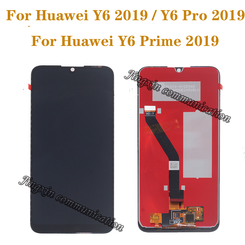 6.01'' Original display for Huawei Y6 2019 Y6 Prime 2019 Y6 pro 2019 LCD+ touch screen digitizer component perfect screen repair-in Mobile Phone LCD Screens from Cellphones & Telecommunications