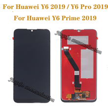 6.01 Original display for Huawei Y6 2019 Prime pro LCD+ touch screen digitizer component perfect repair