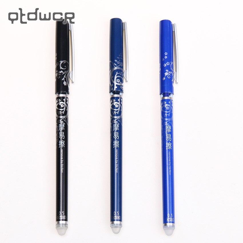 1 Psc Office Stationery 47200 Unisex Pen Erasable Pen Unisex 0.5 Gel Pen 4 Color Choose
