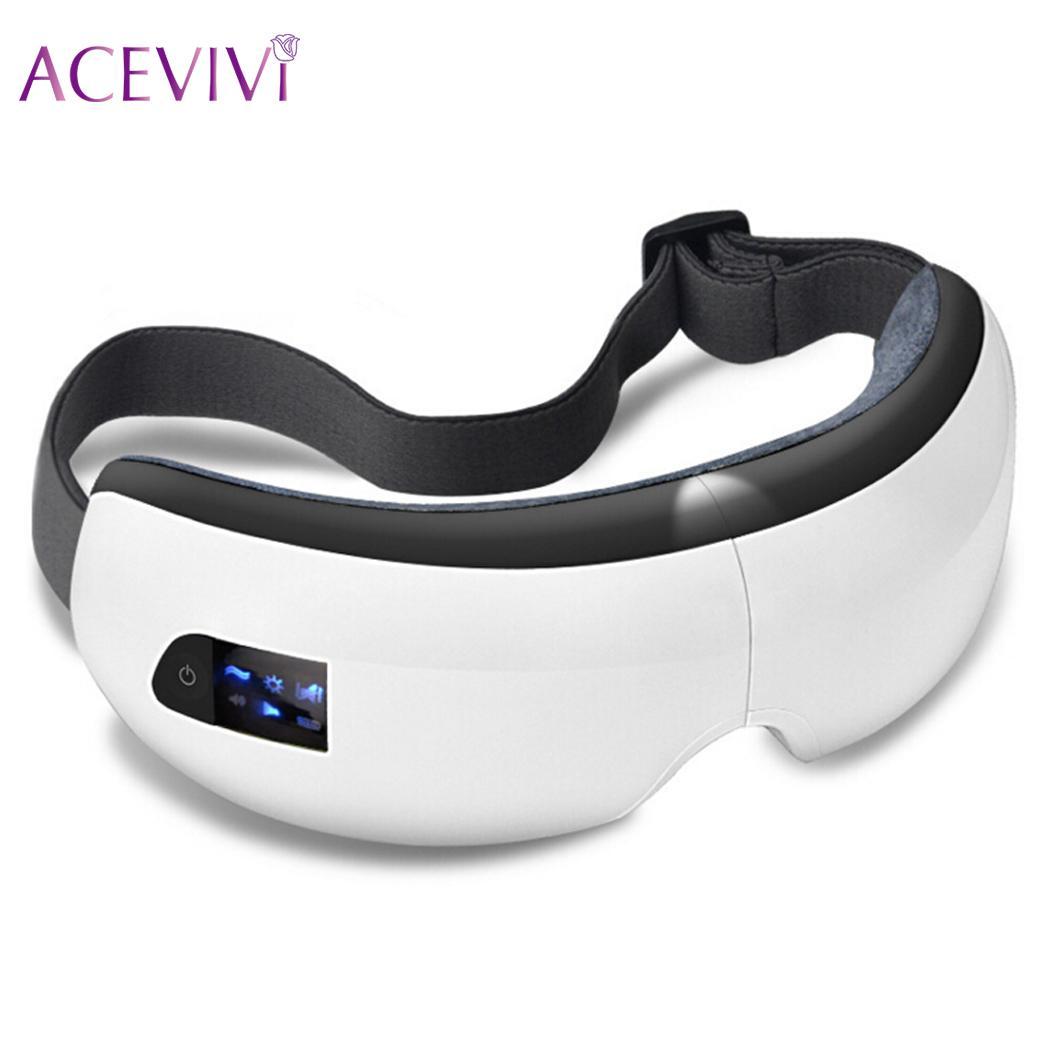 Eye Bluetooth Music Folded for Dry Eye Relax Eyestrain Stress New Massager ...
