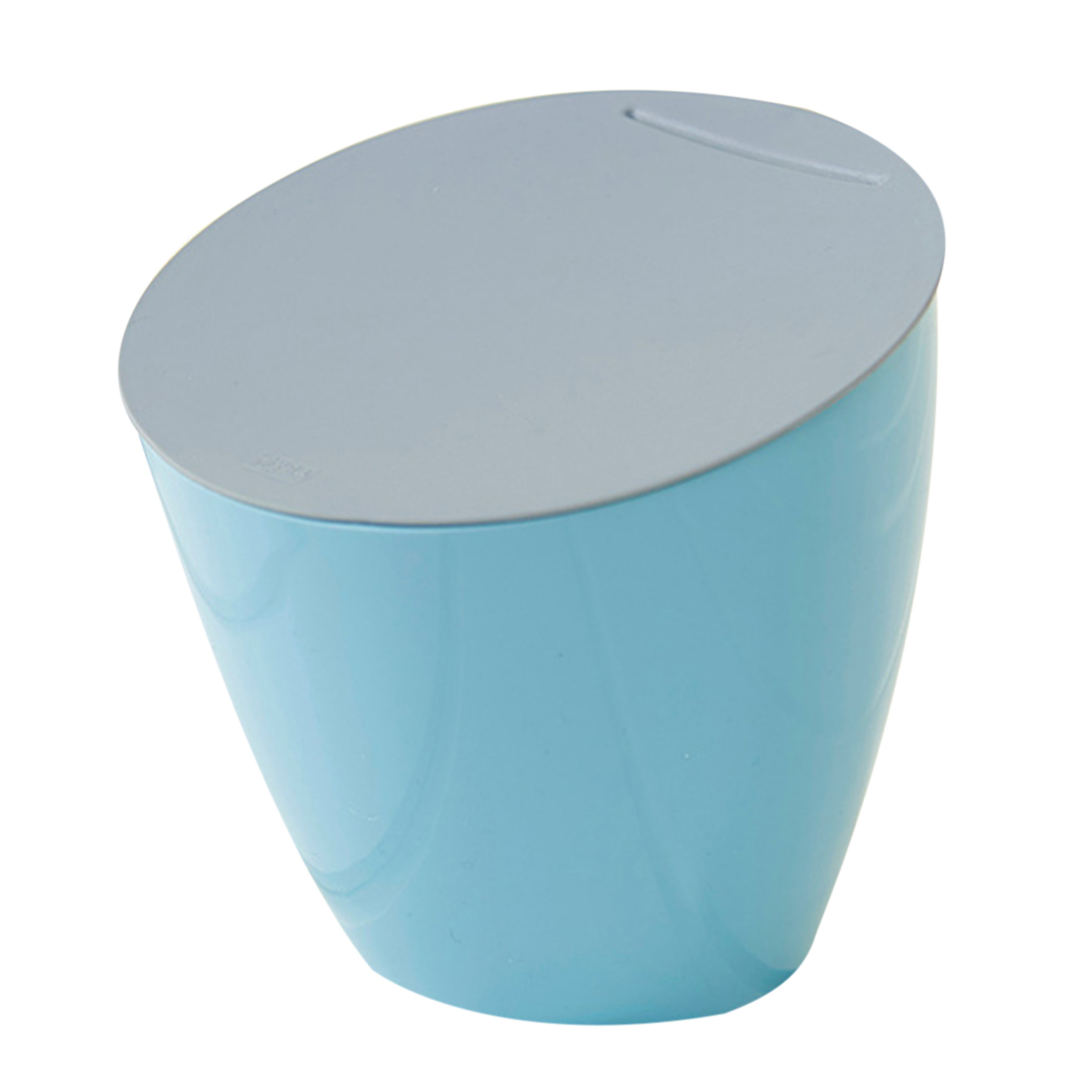 Simple MIni Trash Can Plastic Desktop Wastebasket Storage Bin ...