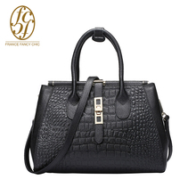 2016 New Alligator Style Soft Cattle Split Leather Women Crossbody Bag Fashion Handbags 30-50cm Shoulder Bags TK07030