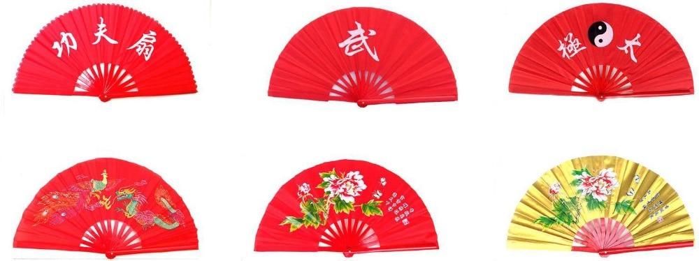 Bamboe Taiji Quan Tai Chi Fans Vechtsport Wushu Prestaties Fan
