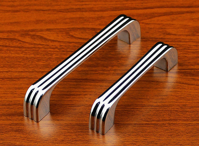 New Cabinet Cupboard Drawer Knob Pull Handle (C.C.:128mm Length:141mm)