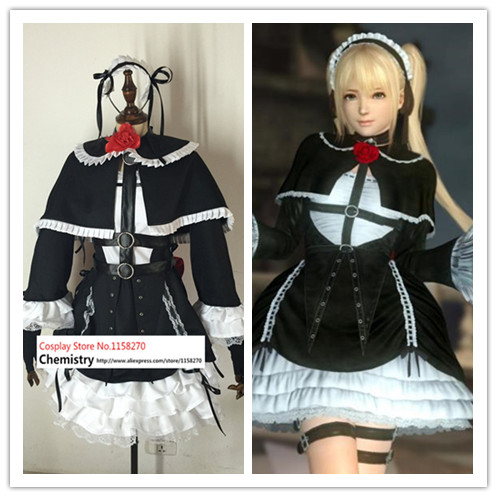 Dead or Alive Marie Rose Cosplay Costume