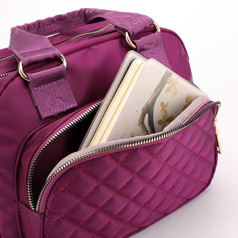Тканевый встряхиватель Лидер продаж сумка большая емкость несколько отделений сумка через плечо, Bolsa Femail сумки на плечо для женщин