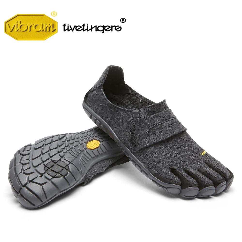 2058ad7feab5e2 CVT CÂNHAMO dos homens Cinco dedos Vibram Fivefingers Verão respirável  lazer minimalista slip-on Sapatos