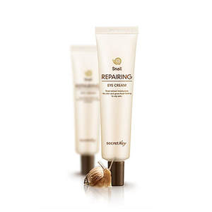 Font Secret Key Snail Repairing Eye Crop Quality Elastic Skin Around Care Korean Cosmetics Face
