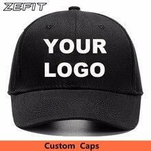 โลโก้ปรับแต่งหมวกขนาดเล็กCustom Snap Closeหมวกกอล์ฟหมวกหมวกSun Visorหมวกทีมแฟชั่นสวมใส่เบสบอลหมวก
