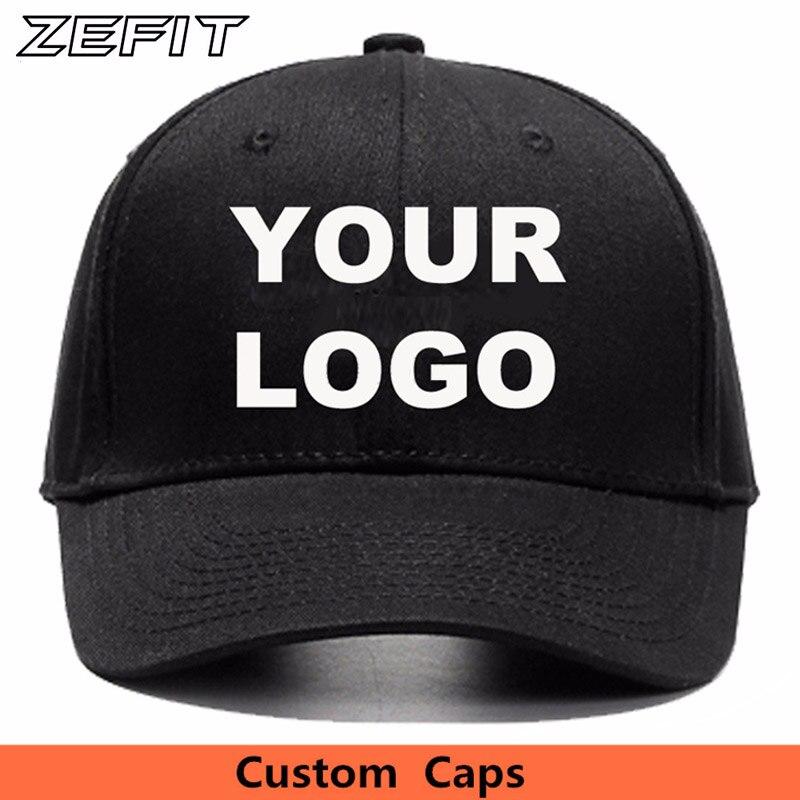 748ac923 Logo customized cap low quantity custom snapback cap golf tennis dad hat  sun visor hat team fashion wearing custom baseball cap