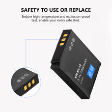 2 batteries de caméra numérique rechargeables EN EL12, 1050mAh 3.7V, pour Nikon Coolpix S610 S610c S710 S620 S630 S8000 S6000