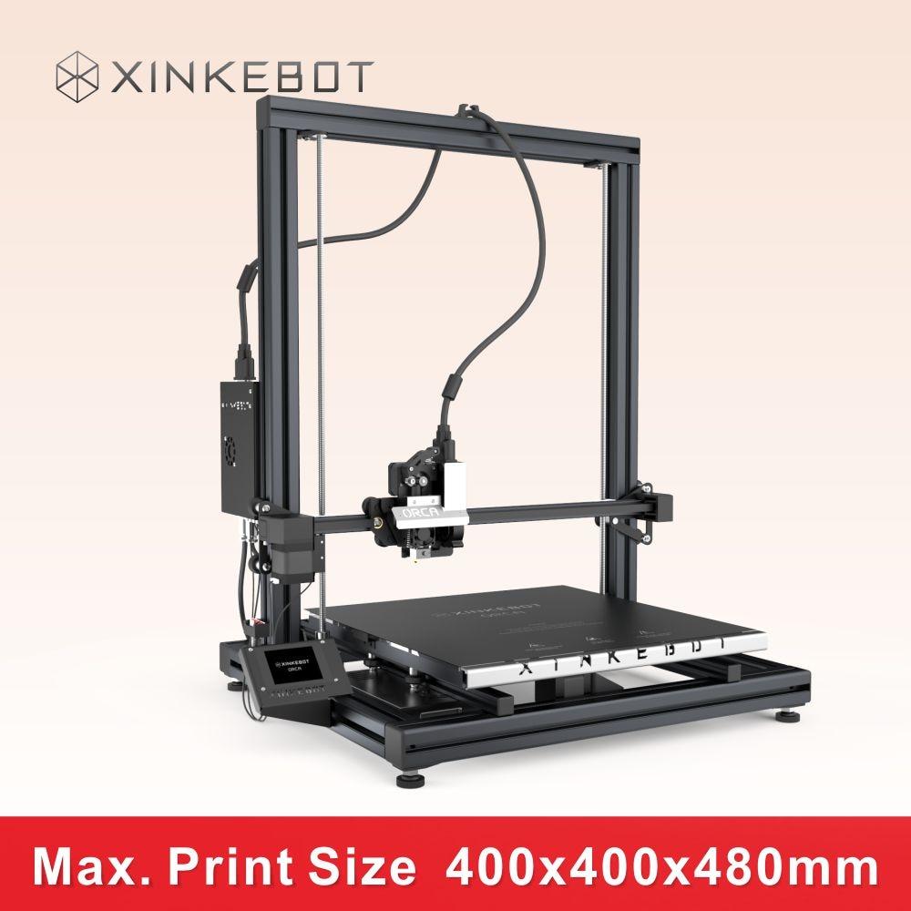 XINKEBOT 2016 Newest Metal Frame Orca2 Cygnus 3D Printer Large Room 400 400 480mm Interchangeable Single