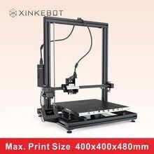 XINKEBOT 2016 Новый Металлический Каркас Orca2 Лебедь 3D Принтер Большой Номер 400*400*480 мм Сменные Single/двойной Экструдеры