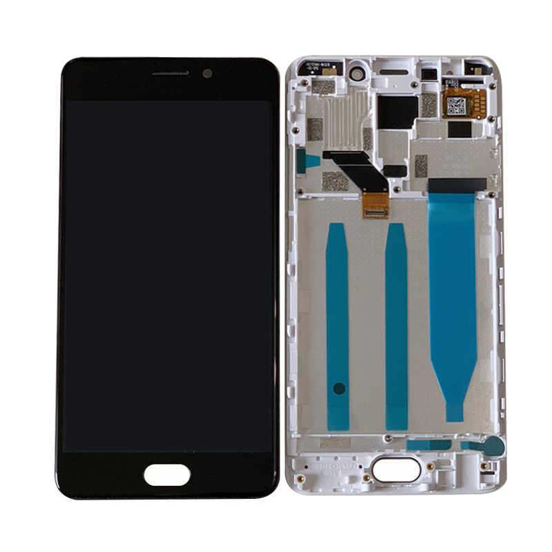 """الأصلي M & Sen ل 5.5 """"Meizu M6 ملاحظة شاشة LCD عرض محول رقمي يعمل باللمس مع الإطار ل Meizu Meilan ملاحظة 6 شاشة الكريستال السائل"""