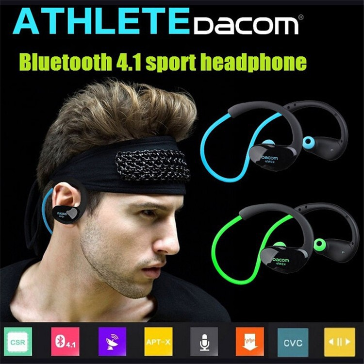 Dacom NFC Cordless Ear Hook Sport Bluetooth 4.1 earpiece Sweatproof Wireless Hifi Bass Headphones With Microphone (17)
