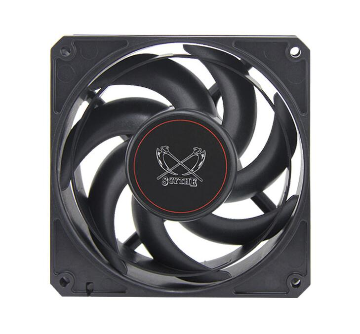 SCYTHE D1225C12 GT3000-P PWM  computer case cooling fan quiet cpu power cooler cooling Chassis fan  Case Fan personal computer graphics cards fan cooler replacements fit for pc graphics cards cooling fan 12v 0 1a graphic fan