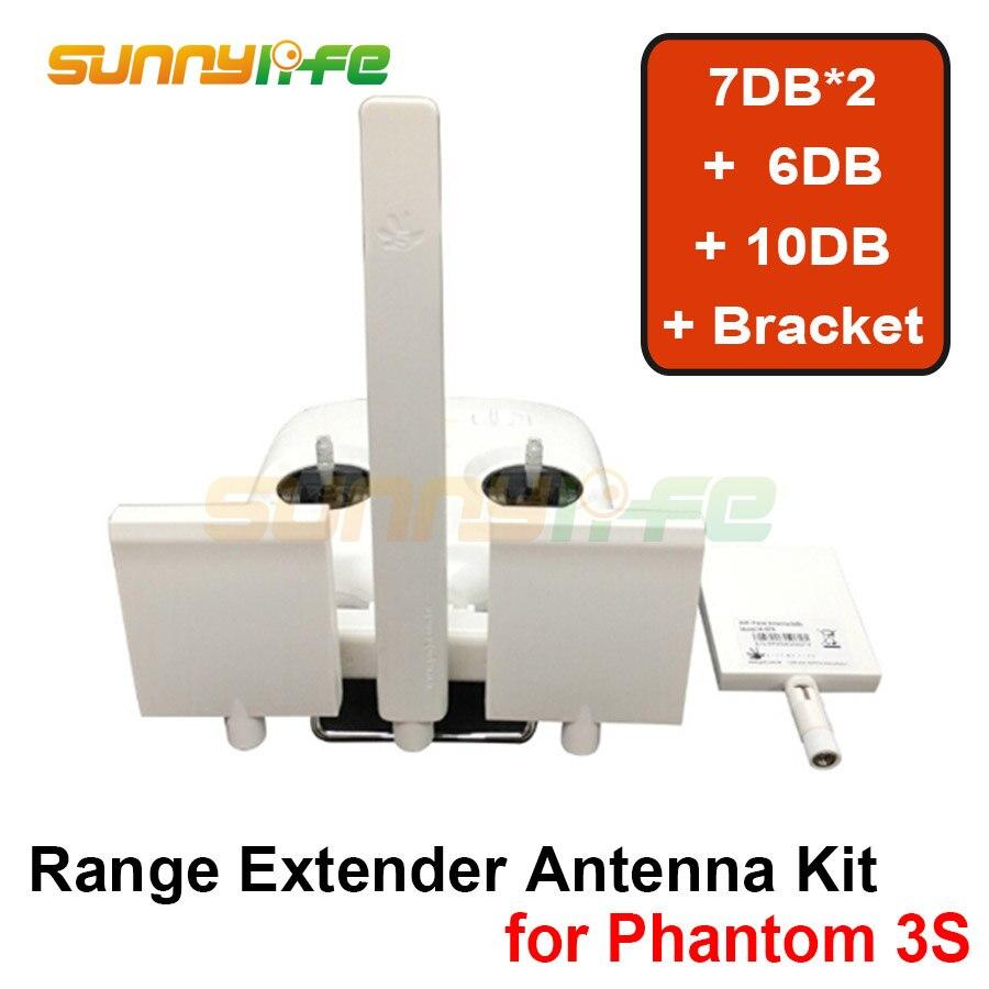 DJI Phantom 3S/3SE Remote Controller Antenna Refitting Combo Long Range Extender Signal Booster for DJI Phantom 3S/3SE|booster signal|booster antennabooster controller - title=