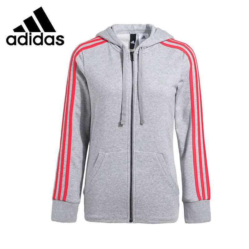 Original New Arrival 2017 Adidas Performance ESS 3S FZH SL Women's jacket Hooded Sportswear adidas new arrival official ess 3s crew men s jacket breathable pullover sportswear bq9645