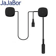 JaJaBor 2nd Generazione del Casco Del Motociclo Auricolare Cuffia Senza Fili di Bluetooth Altoparlante Vivavoce di Musica Automatico di Chiamata di Risposta