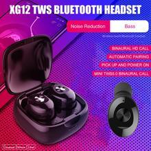 HOOWAN Mini Wireless Bluetooth Sports Earphone stereo 5.0 waterproof music for iphone x 7 8 Huawei
