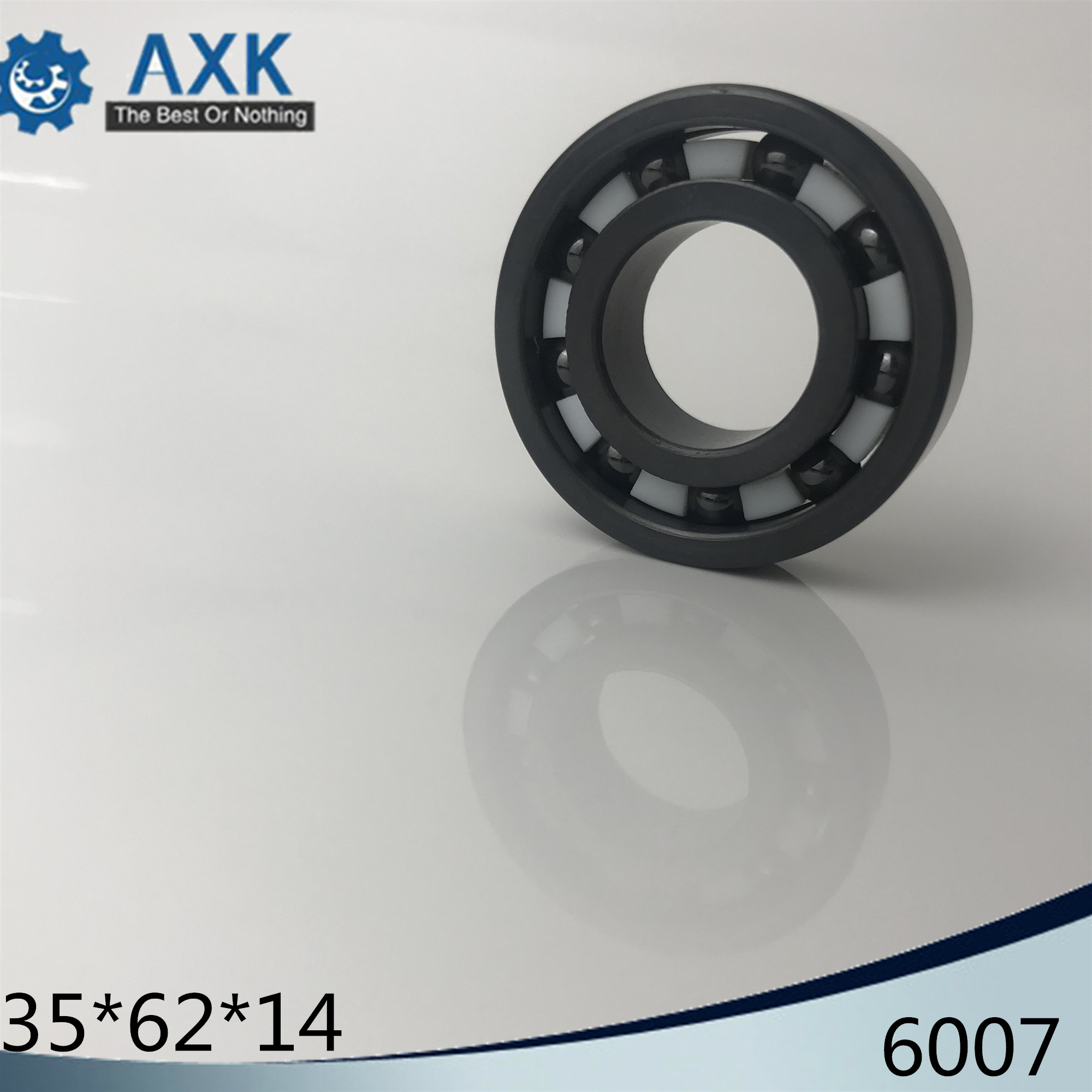 6007 Full Ceramic Bearing ( 1 PC ) 35*62*14 mm Si3N4 Material 6007CE All Silicon Nitride Ceramic Ball Bearings6007 Full Ceramic Bearing ( 1 PC ) 35*62*14 mm Si3N4 Material 6007CE All Silicon Nitride Ceramic Ball Bearings