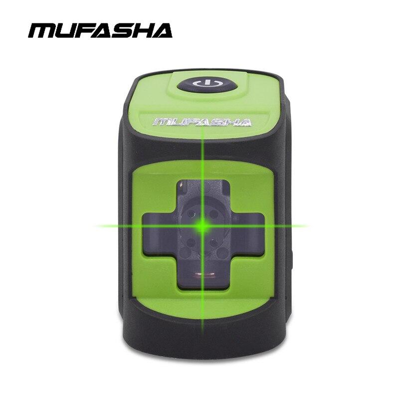 Mumodes Mini 2 lignes Laser niveau faisceau rouge ou faisceau vert niveau Laser auto-nivelant dans la boîte