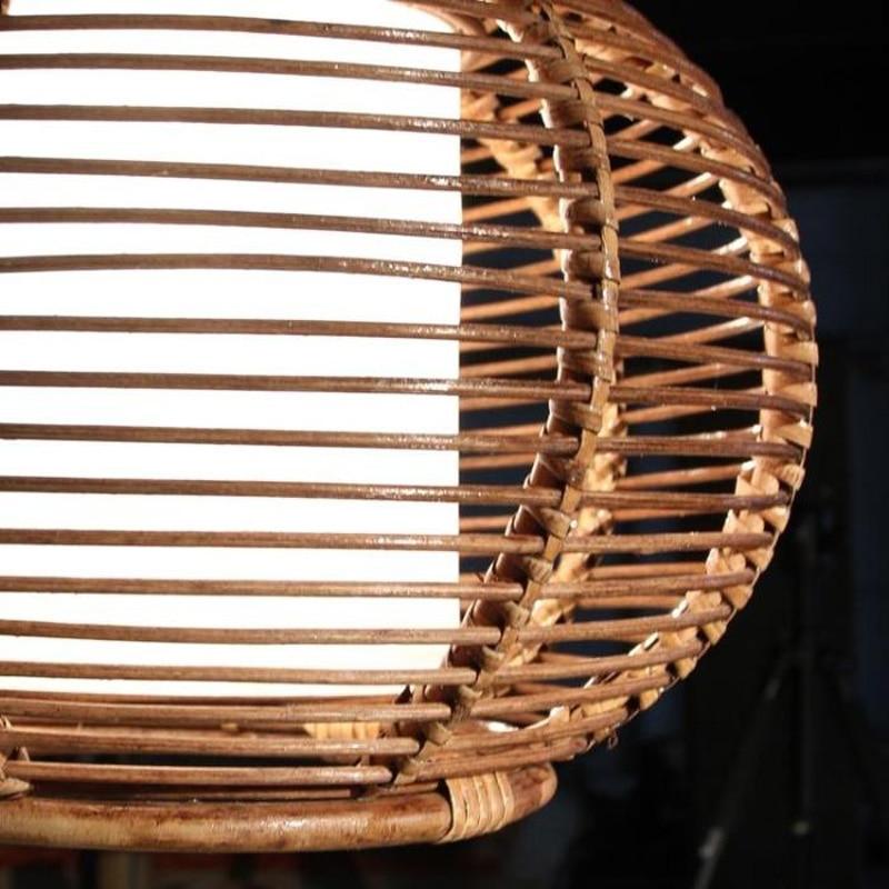 Ձեռագործ ռաթթան զամբյուղ Ռեստորան - Ներքին լուսավորություն - Լուսանկար 2