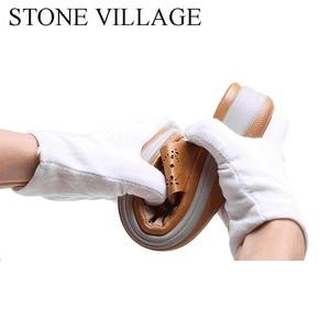 Image 4 - הקיץ חיצוני חוף כפכפים נשים כפכפים החלקה נוח טריזי עקבים פלטפורמת נעלי נעל נשית באיכות גבוהה