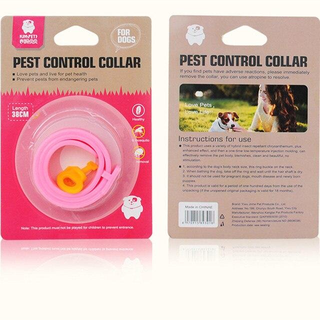 Collier répulsif Anti Moustiques pour animal de compagnie chat ou chien 4