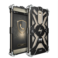 Zimon Iron Man Full Body Aluminum Structures Shockproof Dropproof Back Cover Hard Case For Gionee M6