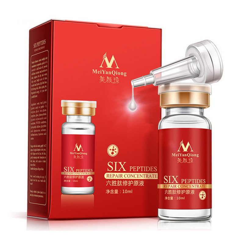 Argireline + Aloe Vera + Collagen Peptides Rejuvenation Anti Wrinkle Serum For Face Skin Care Anti-aging Cream 1pcs six peptides serum for striae anti wrinkle cream anti aging collagen rejuvenating face lift skin care