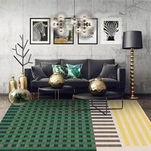European abstraction geometric lattice mat home bedroom bedside entrance elevator floor sofa coffee table anti slip carpet