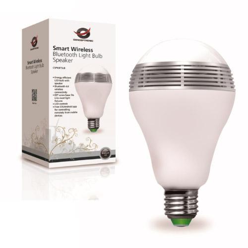 Ampoule RGB Bluetooth haut-parleur Conceptronic ibulbhaut-parleur