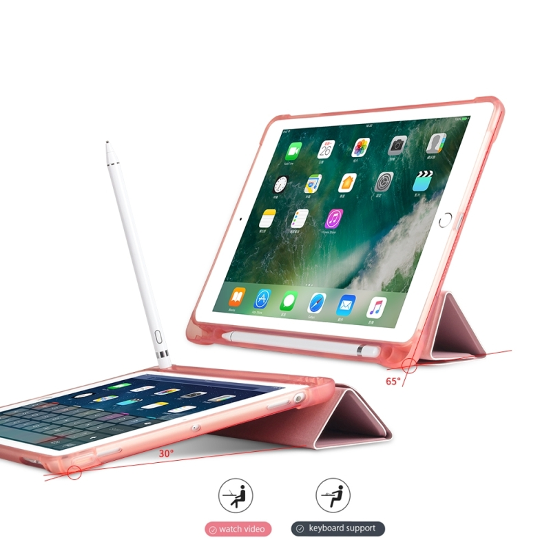 HAWEEL Tablet Cover Case for iPad 9 7 2018 9 7 2017 air air2 Multi folding Shockproof TPU Protective Case with Holder in Tablets e Books Case from Computer Office