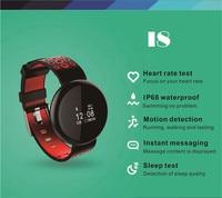 HIPERDEAL Electronics Smart Watches Wrist Smart Bracelet Heart Rate Waterproof Call Reminder Pedometer Bluetooth Health NOV30