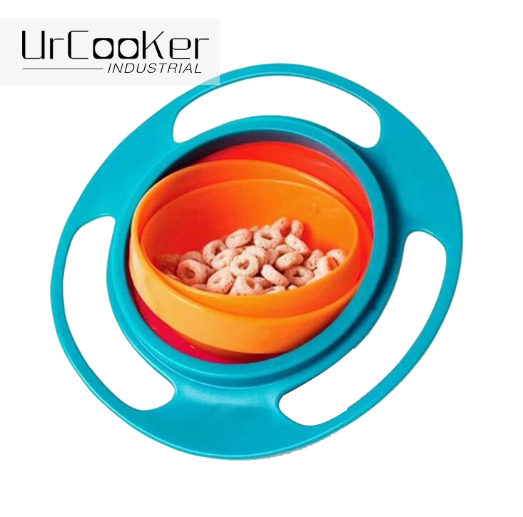 Home Baby Magic Spill Resistant Kids Bowl Snack Food Dish