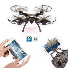 XKY XX5SW-1 RC Quadcopter, 4 Channel 2.4G 6-Axis Gyro RC Headless Quadcopter XX5SW-1 Drone UAV w/ 2MP HD Wifi Camera (FPV)