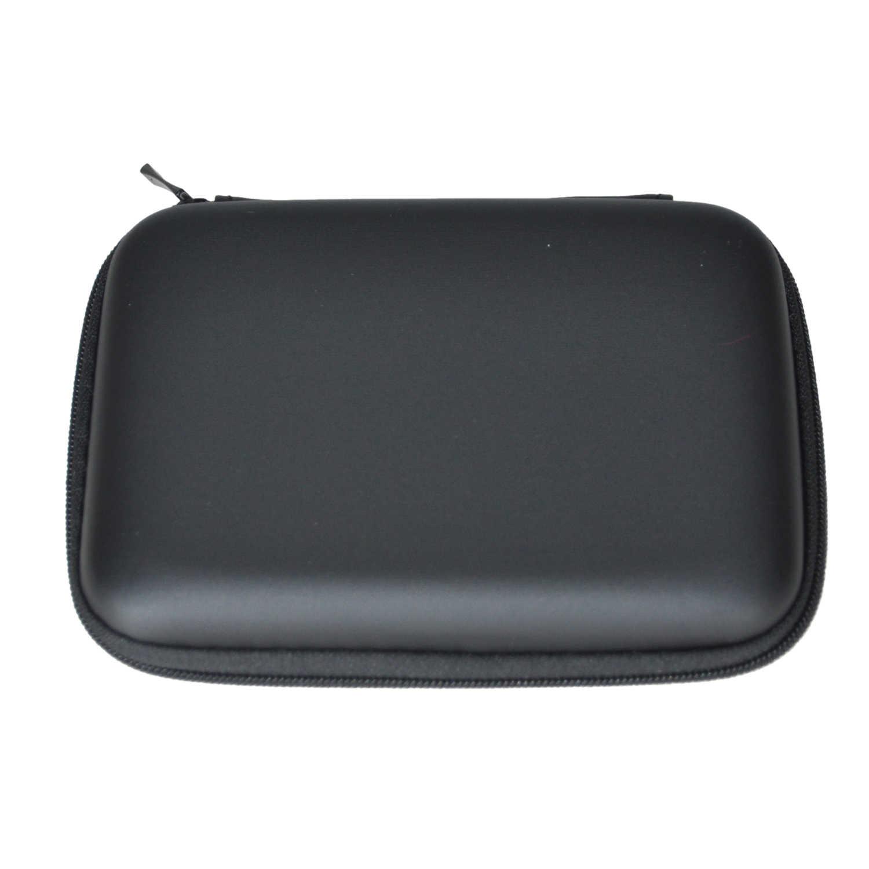 """Портативный жесткий диск, ударопрочный чехол на молнии, сумка, 2,5 """"HDD, сумка, Жесткий Чехол, черный"""