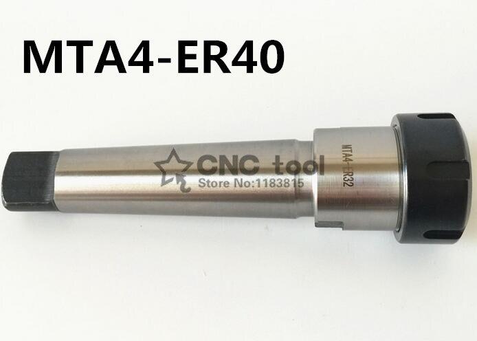 MT4-ER40 pince mandrin poignée 4 # Morse cône fraisage mandrin poignée cône MT4 porte-outil pince CNC pièce MTA4-ER40