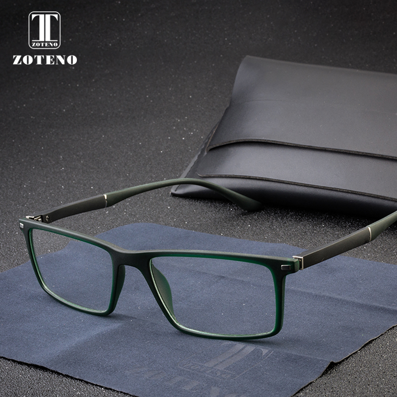 d256368e0a7 TR90 Men Eyewear Frame Classic Myopia Optical Prescription Clear Eyeglasses  Frames Gozluk Male Design Brand Spectacles  88008