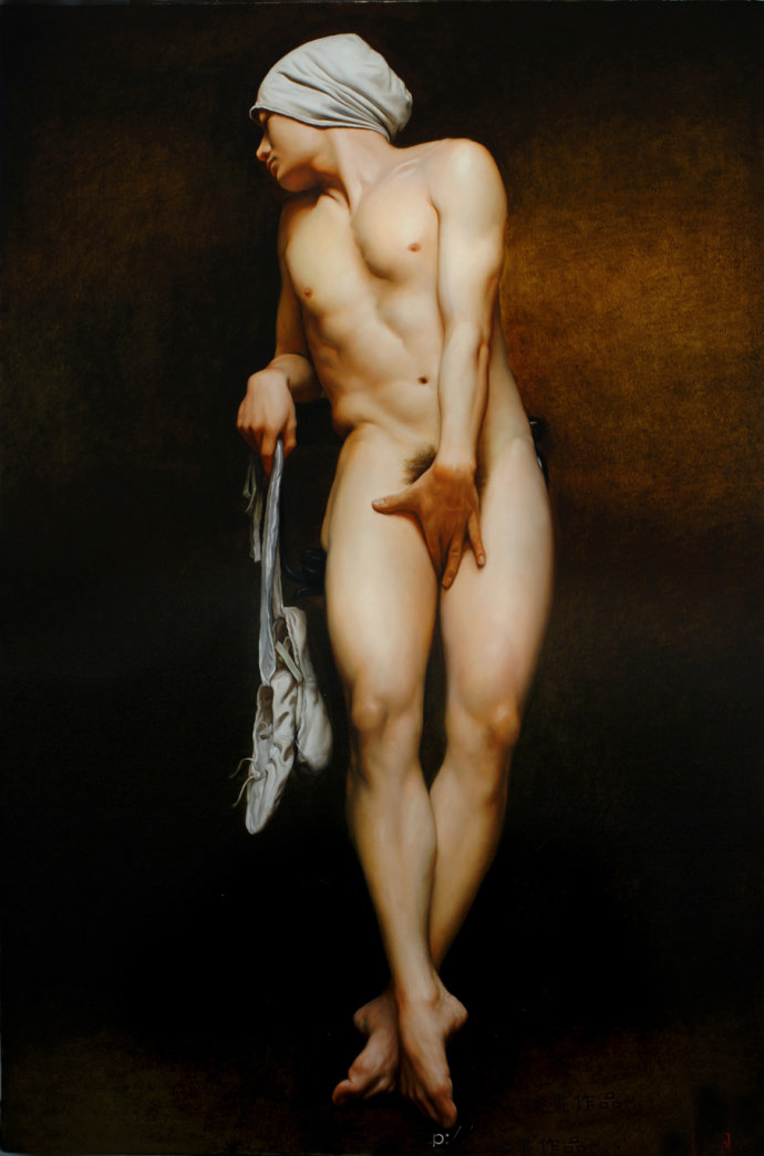 Popular Male Nude Painting-Buy Cheap Male Nude Painting -4929